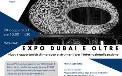 """Unindustria Napoli """"Expo Dubai e oltre"""""""