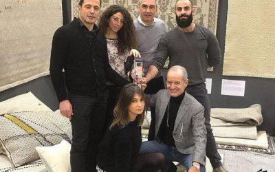 Tappeti e tessuti made in Sardegna conquistano il premio internazionale per il design